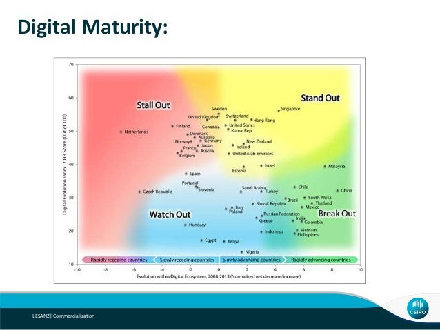 Digital Maturity: LESANZ  Commercialization