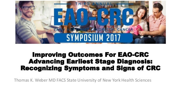 Third Annual Early Age Onset Colorectal Cancer Symposium - Optimizing Outcomes For EAO-CRC  Slide 2