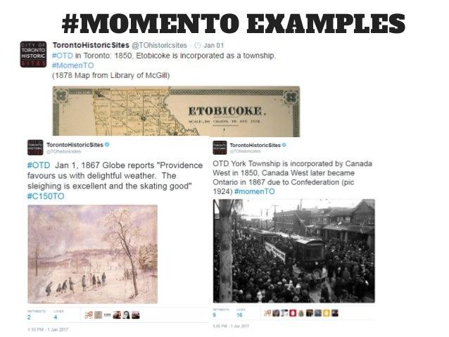 #MOMENTO EXAMPLES