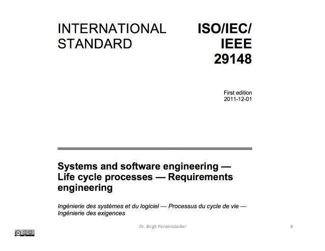 ieee standards for srs in software engineering pdf