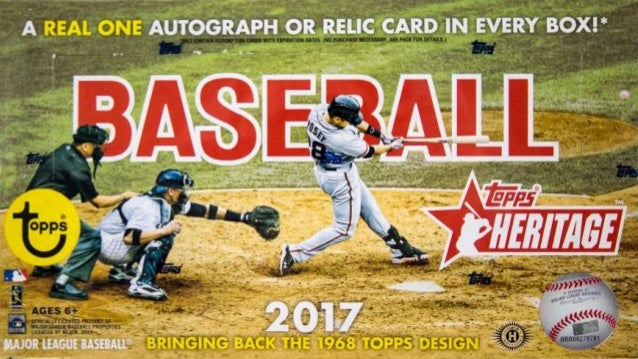 2017 Topps Heritage Variations Quick Guide