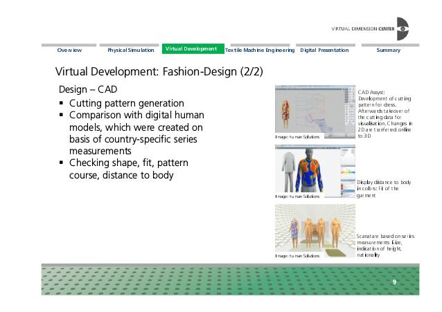 Virtual Techniques in Textile Applications: VDC-Whitepaper