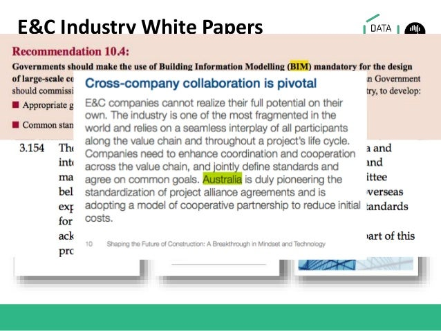 E&C Industry White Papers