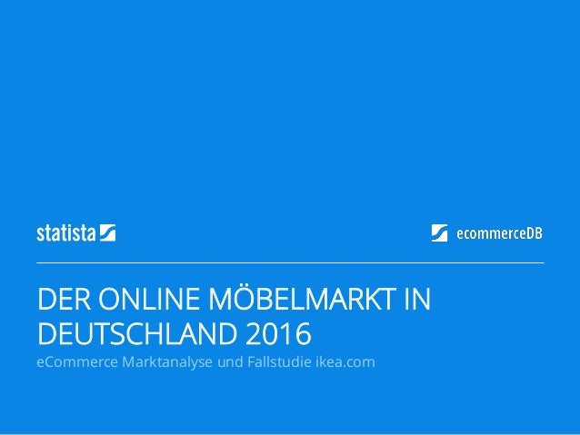 Der Online Mobelmarkt In Deutschland 2016 Ecommerce