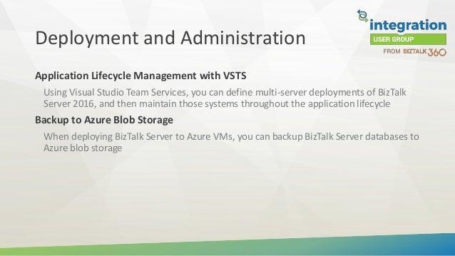 Introduction to BizTalk Server 2016 Feature Pack 2