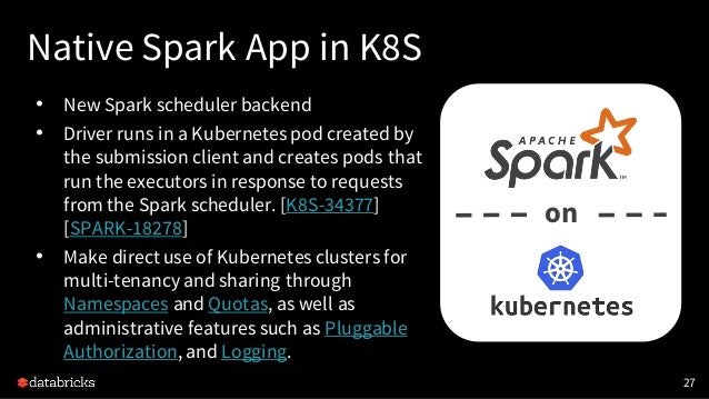 What's New in Upcoming Apache Spark 2.3 Slide 27