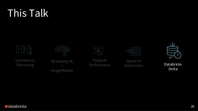 What's New in Upcoming Apache Spark 2.3 Slide 29