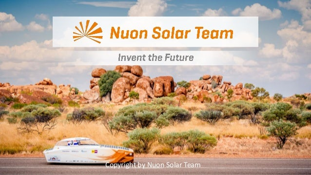 Copyright by Nuon Solar Team