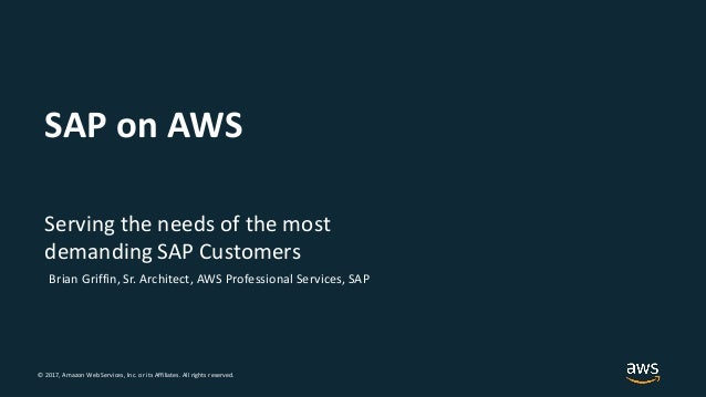 © 2018, Amazon Web Services, Inc. or its Affiliates. All rights reserved.© 2017, Amazon Web Services, Inc. or its Affiliat...