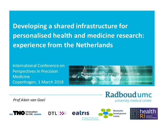Developing a shared infrastructure for personalised health and medicine research: experience from the Netherlands Internat...