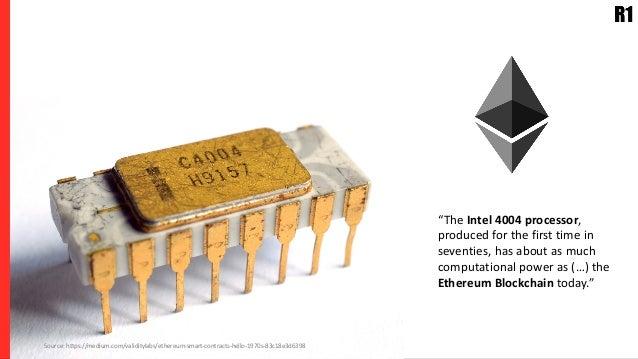 "Jimmy Carter (1978) Source: https://medium.com/validitylabs/ethereum-smart-contracts-hello-1970s-83c18e3d6398 ""The Intel 4..."