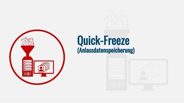 Quick-Freeze (Anlassdatenspeicherung)