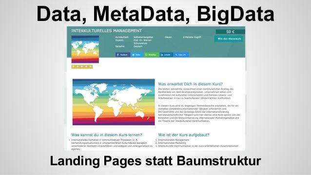 Data, MetaData, BigData Recommendation - lernen von Amazon