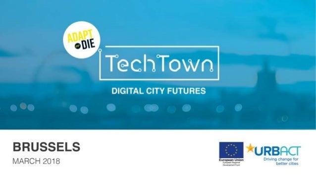 Digital City Futures | Adapt or Die BRUSSELS 2018