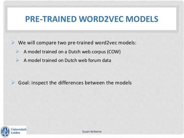 Tutorial on word2vec