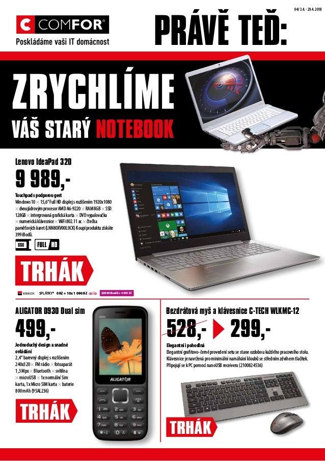 """PRÁVĚ TEĎ: ZRYCHLÍME VÁŠ STARÝ NOTEBOOK 22500 ibodů + 4 989 Kč Touchpadspodporougest Windows10×15,6""""FullHDdisplejsrozlišen..."""