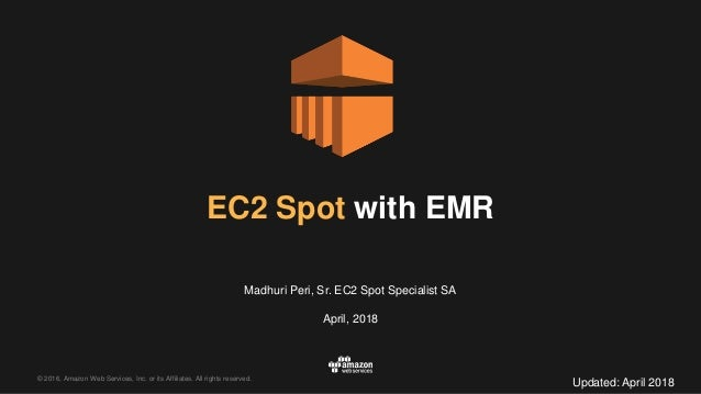 Best Practices for Running Amazon EC2 Spot Instances with Amazon EMR …