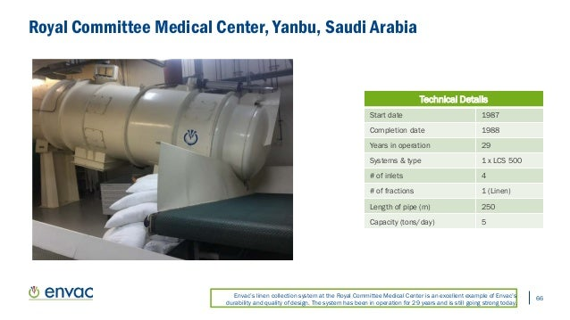Envac's Pneumatic Waste & Linen Collection System