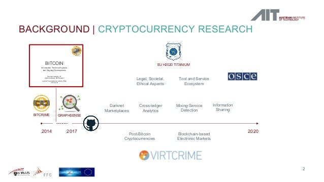 Post-Bitcoin Cryptocurrencies, Off-Chain Transaction Channels, and Cryptocurrency Analytics Techniques Slide 2