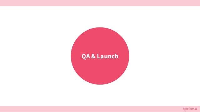 @cattsmall QA & Launch
