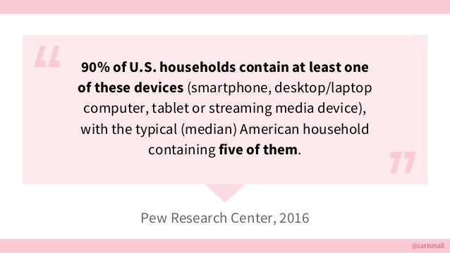 @cattsmall 90% of U.S. households contain at least one of these devices (smartphone, desktop/laptop computer, tablet or st...