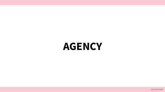 @cattsmall AGENCY