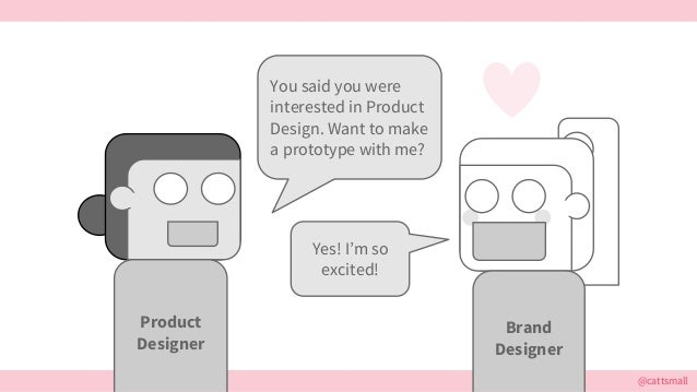 @cattsmall You said you were interested in Product Design. Want to make a prototype with me? Yes! I'm so excited! Product ...