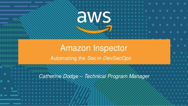 Using Amazon Inspector to Discover Potential Security Issues - AWS On…