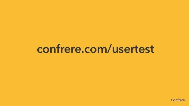 Easy and affordable user testing - Workshop Slide 2