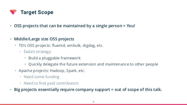 Tips For Maintaining OSS Projects