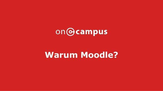 Warum Moodle?