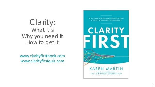 Clarity First Summer Webinar Series 3 www.TKMG.com/webinars + YouTube, Vimeo, and Slideshare 1 2 3 4
