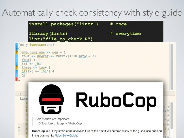 http://wurmlab.github.io Use tools that reduce risks • Ensure computers are set up for productivity. E.g.,: • use GNU para...
