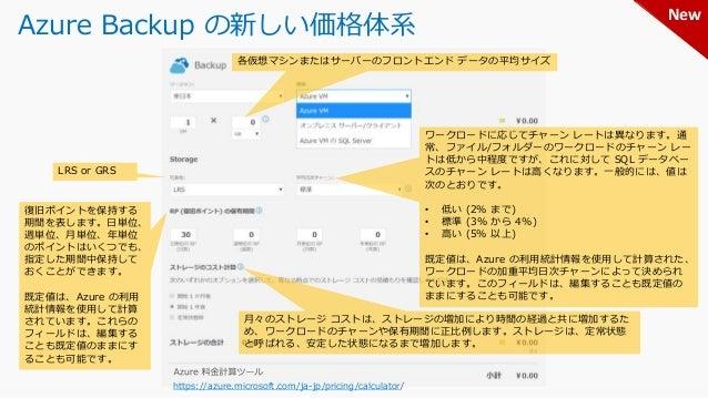 Azure ストレージのレプリケーション 既定 https://docs.microsoft.com/ja-jp/azure/storage/common/storage-redundancy-lrs https://docs.microsof...