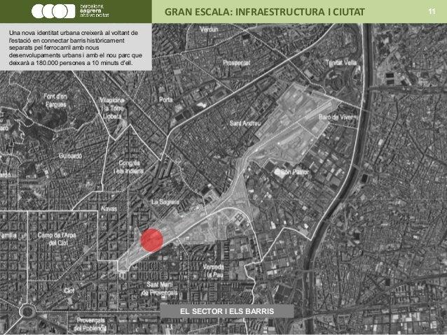 EL SECTOR I ELS BARRIS GRAN ESCALA: INFRAESTRUCTURA I CIUTAT 11 Una nova identitat urbana creixerà al voltant de l'estació...