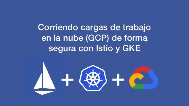 Corriendo cargas de trabajo en la nube (GCP) de forma segura con Istio y GKE