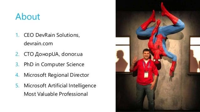 """.NET Fest 2018. Олександр Краковецький. Microsoft AI: створюємо програмні рішення з """"інтелектом"""" Slide 3"""