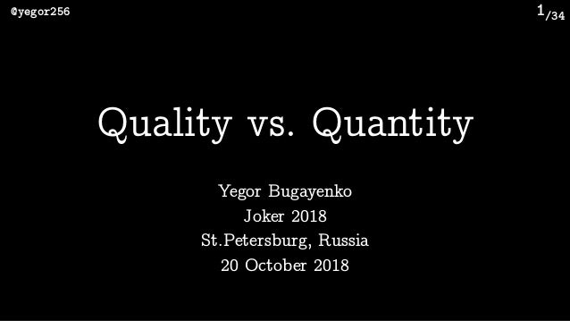 /34@yegor256 1 Yegor Bugayenko