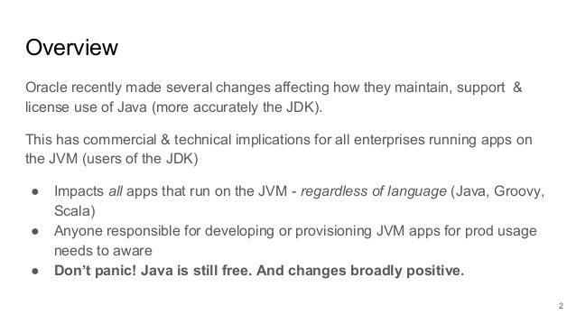 2018 10-oracle-java-licensing-update-support-changes Slide 2