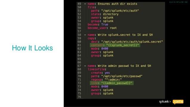 Splunk  conf18 Updates, Config Add-on, SplDevOps