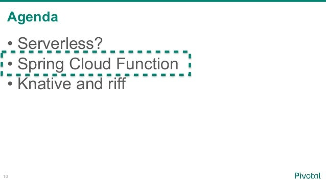 Serverless with Spring Cloud Function, Knative and riff