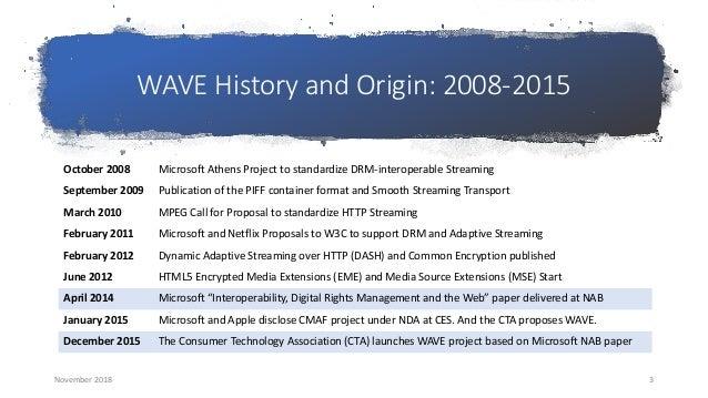 November 2018 Seattle Video Tech Meetup: WAVE Update Slide 3