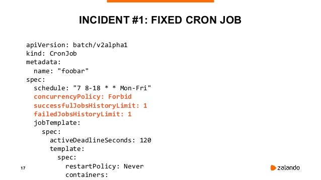 19 INCIDENT #2: CLUSTER DOWN