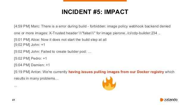 43 INCIDENT #5: A VERY INNOCENT PULL REQUEST