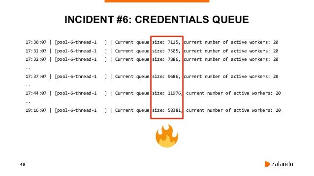 48 INCIDENT #6: WHAT HAPPENED Scaled down IAM provider to reduce Slack + Number of deployments increased ⇒ Process could n...