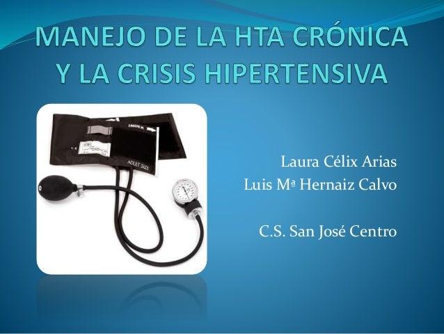 Laura Célix Arias Luis Mª Hernaiz Calvo C.S. San José Centro