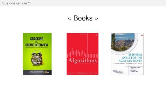 « Books » Que dois-je faire ?