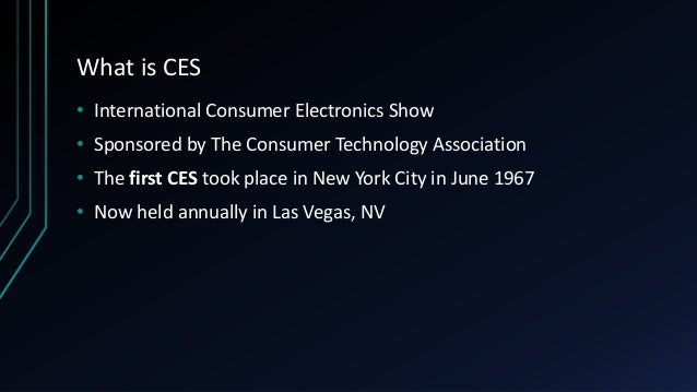 Highlights from CES 2018 Slide 2