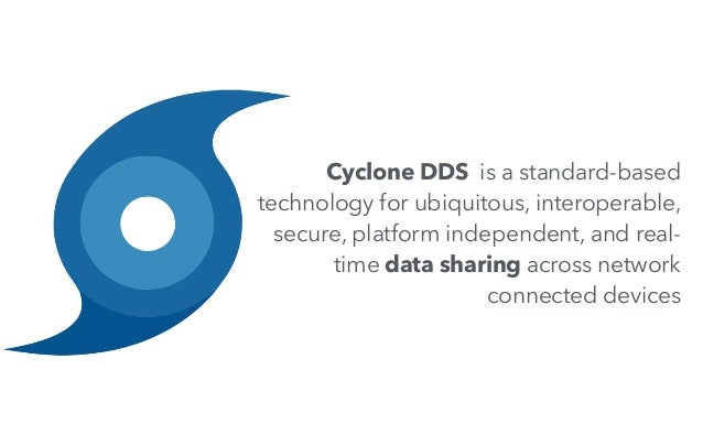 Cyclone DDS is a standard-based technology for ubiquitous, interoperable, secure, platform independent, and real- time dat...