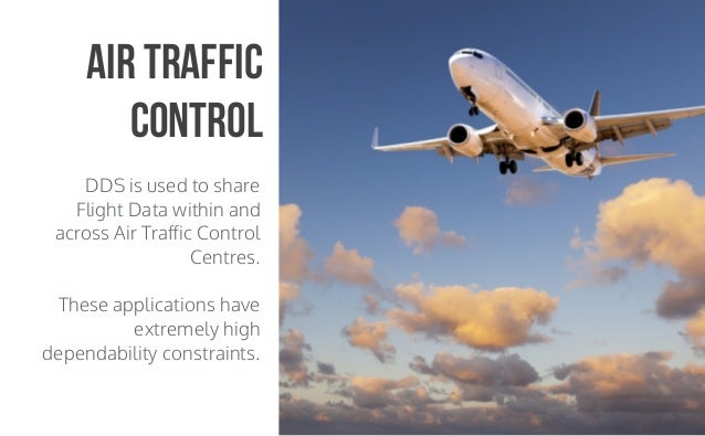 CopyrightPrismTech,2015 DDS is used to share Flight Data within and across Air Traffic Control Centres. These applications ...